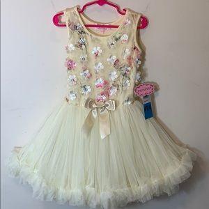 Popatu | Buttercream Dress wit Tutu Skirt